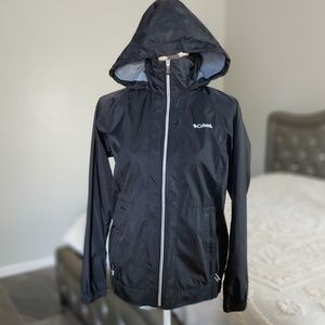 Columbia windbreaker water proof water resistant o